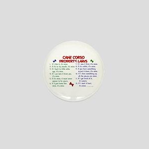 Cane Corso Property Laws 2 Mini Button