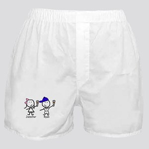 Coffee - Jennifer & Ryan Boxer Shorts