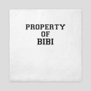 Property of BIBI Queen Duvet