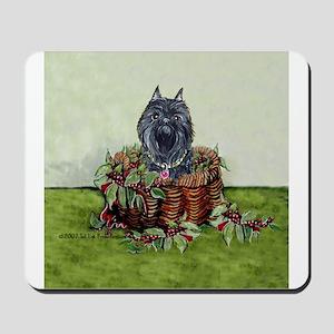 Brussels Basket Griffon Dog Mousepad