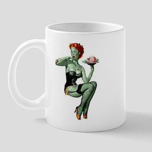 zombie pin-up girl Mug