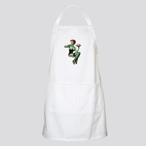 zombie pin-up girl Apron