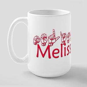 Melissa Large Mug