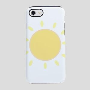 sun and joyful iPhone 8/7 Tough Case