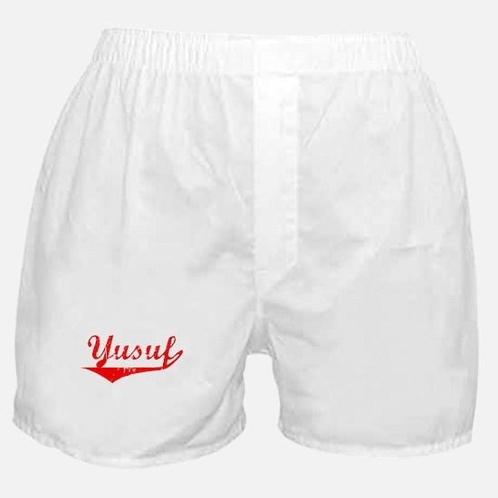 Yusuf Vintage (Red) Boxer Shorts