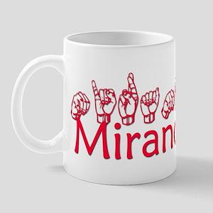 Miranda Mug