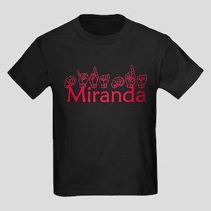 Miranda Kids Dark T-Shirt
