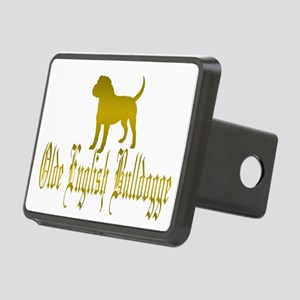 Olde English Bulldogge Gold Hitch Cover