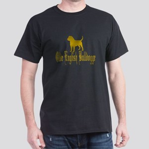 Olde English Bulldogge Gold T-Shirt