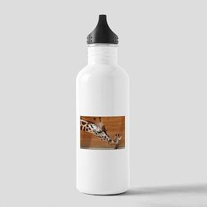 Kissing giraffes Stainless Water Bottle 1.0L