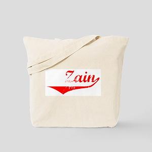 Zain Vintage (Red) Tote Bag