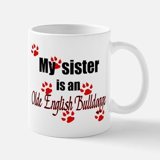 Olde English Bulldogge Sister Mugs