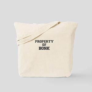 Property of BONK Tote Bag