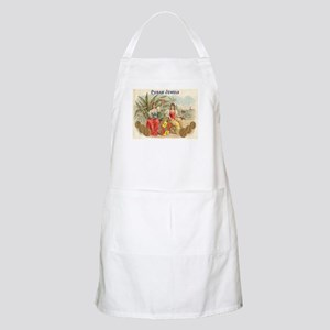 Cuban Jewels Cigar Art BBQ Apron