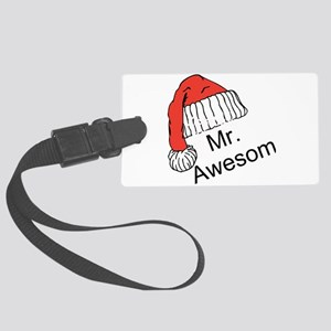 Mr. Awesome Luggage Tag