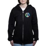 Pentagram Women's Zip Hoodie