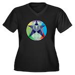 Pentagram Plus Size T-Shirt
