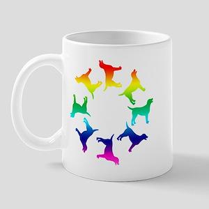 Rainbow Labs Circle Mug