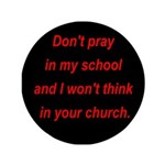 Don't pray in my school and I 3.5