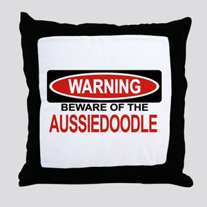 AUSSIEDOODLE Throw Pillow