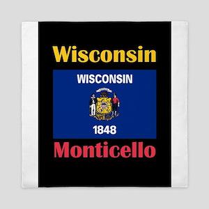Monticello Wisconsin Queen Duvet