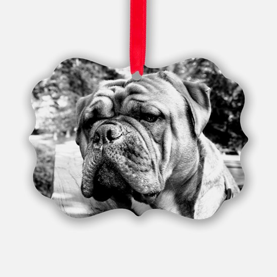 Black and White OEB Ornament