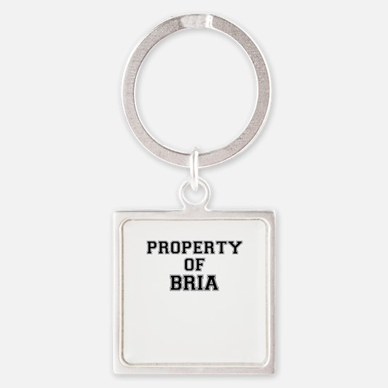 Property of BRIA Keychains