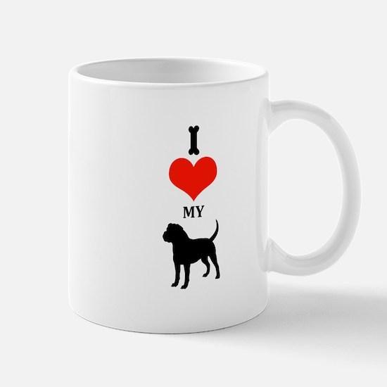 I Love My Olde English Bulldogge Mugs