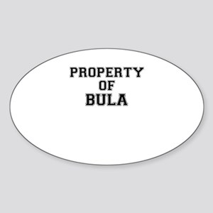 Property of BULA Sticker