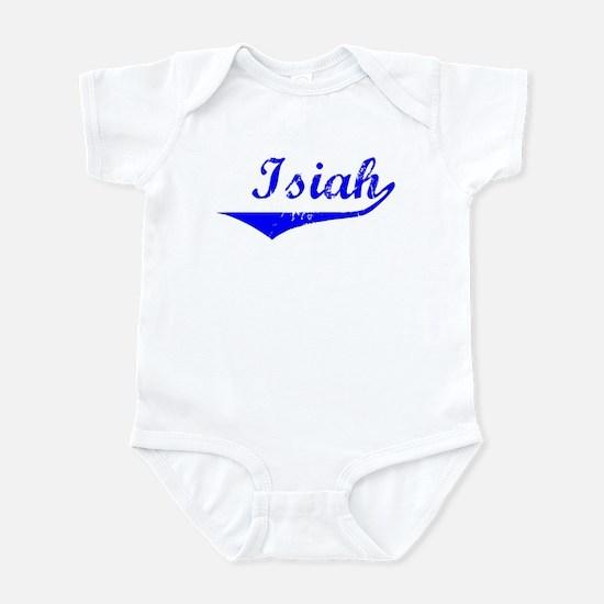 Isiah Vintage (Blue) Infant Bodysuit