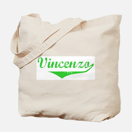 Vincenzo Vintage (Green) Tote Bag