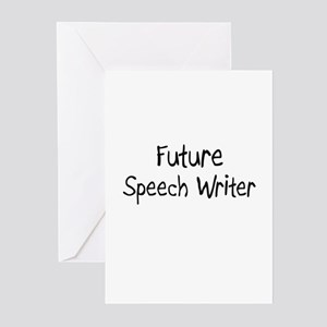 Future Speech Writer Greeting Cards (Pk of 10)