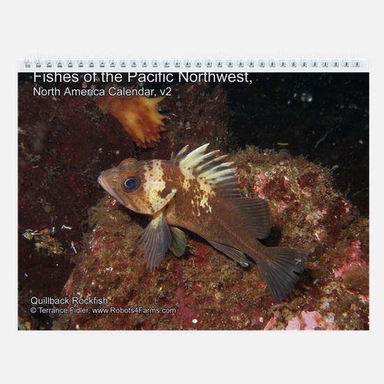 Fishes of the Pacific North West 2013 Calendar v2