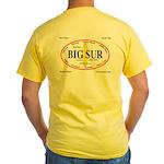 Big Sur Surf Spots Yellow T-Shirt