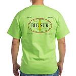 Big Sur Surf Spots Green T-Shirt