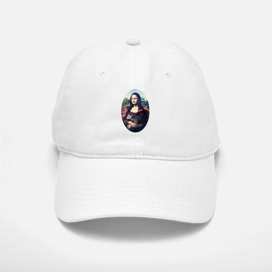 Mona Lisa Possum Baseball Baseball Cap