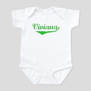Viviana Vintage (Green) Infant Bodysuit