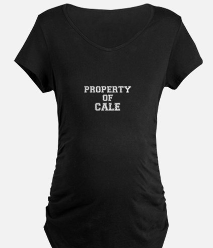Property of CALE Maternity T-Shirt