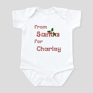 From Santa For Charley Infant Bodysuit