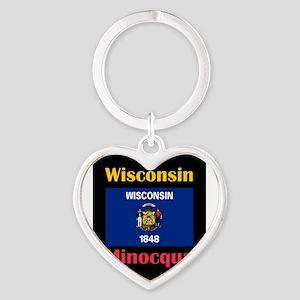 Minocqua Wisconsin Keychains