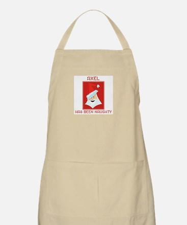 AXEL has been naughty BBQ Apron
