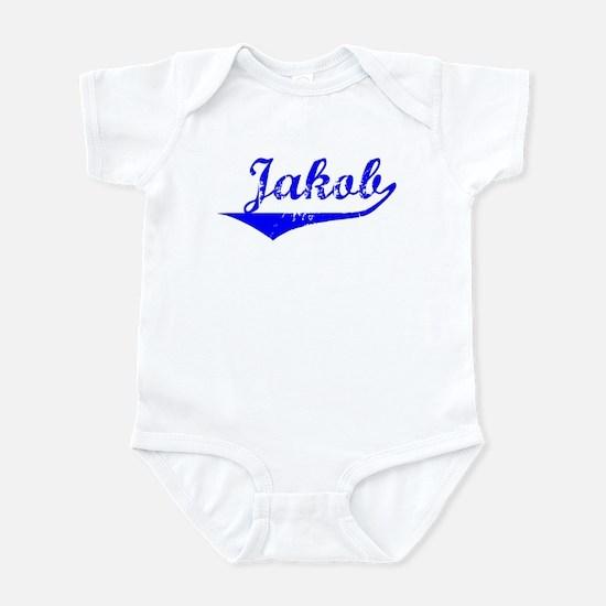 Jakob Vintage (Blue) Infant Bodysuit