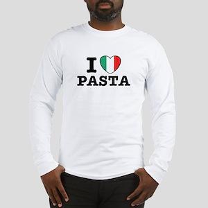 I Love Pasta Long Sleeve T-Shirt