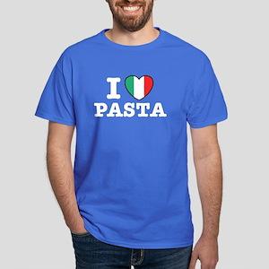 I Love Pasta Dark T-Shirt
