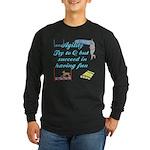 Succeed in Fun Long Sleeve Dark T-Shirt