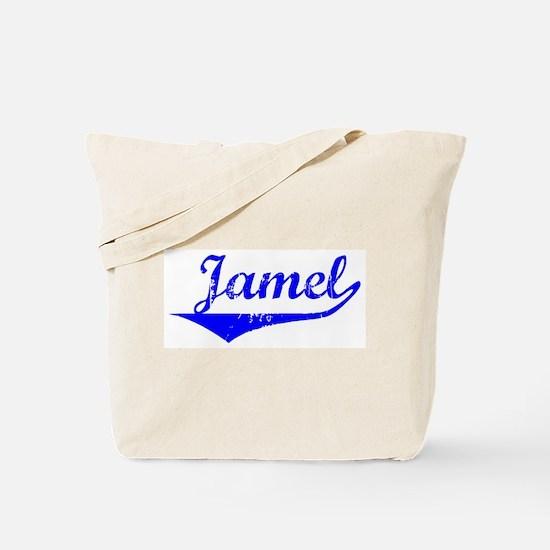 Jamel Vintage (Blue) Tote Bag