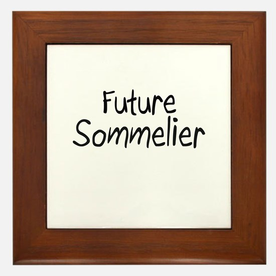 Future Sommelier Framed Tile