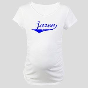 Jaron Vintage (Blue) Maternity T-Shirt