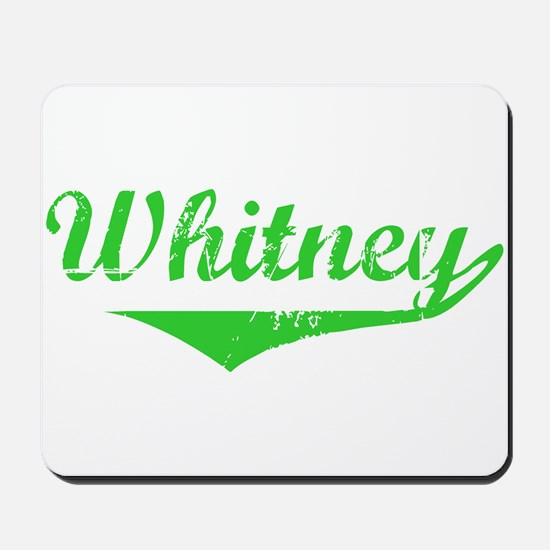 Whitney Vintage (Green) Mousepad