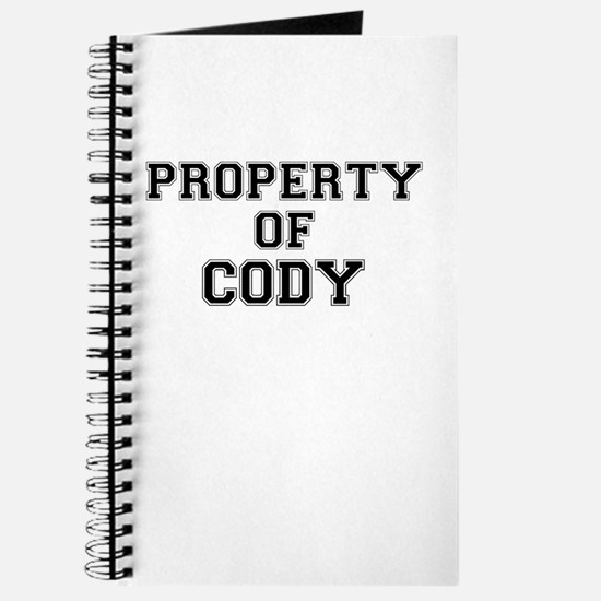 Property of CODY Journal